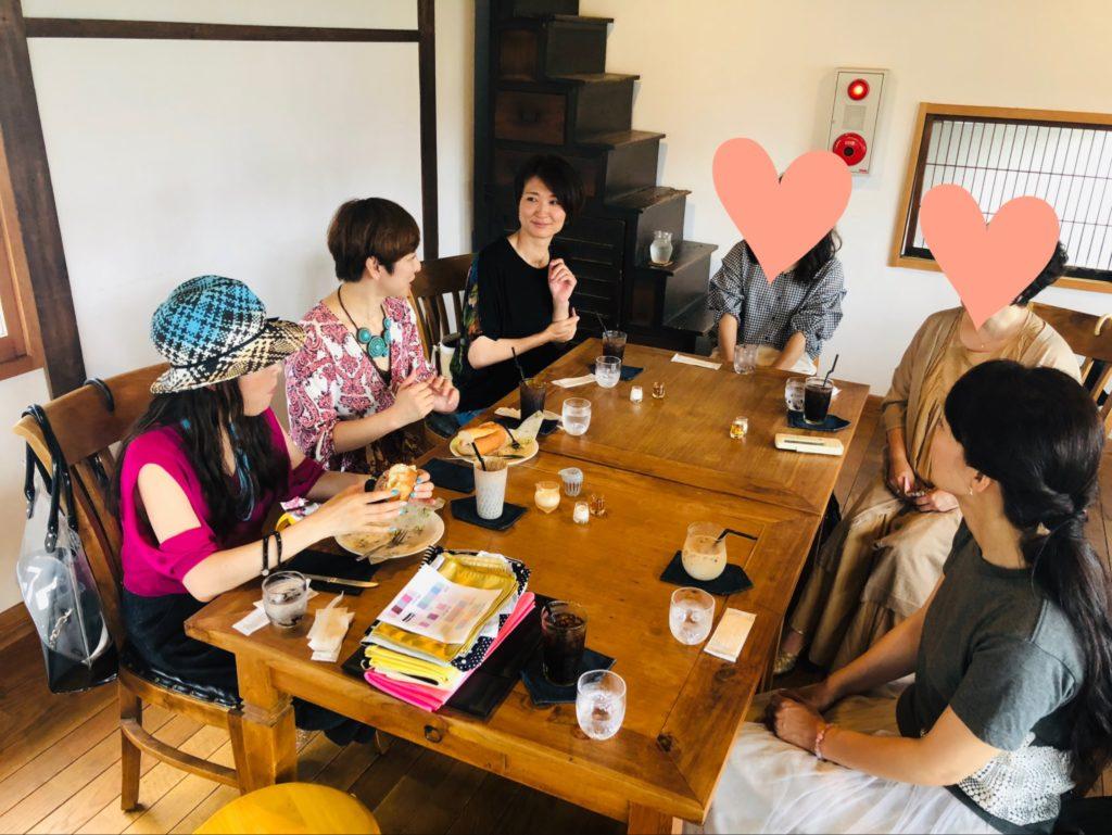 2年ぶり『オシャレ相談お茶会』開催しました!